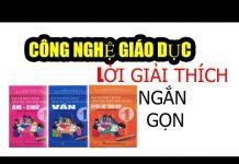 Công Nghệ Giáo Dục Lớp 1 | Giải thích ngắn gọn của Thầy Nguyễn Thành Nam Học Viện Online Lize