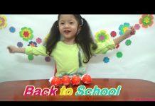 Xem Bóc trứng socola Kinder joy Back to School, đồ chơi xe hơi máy bay, nhẫn cho bé, AnhAnhChannel.com