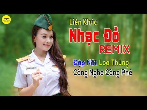 Xem Nhạc Tiền Chiến Remix Xung Nhất | Những Ca Khúc Nhạc Đỏ Cách Mạng Hào Hùng