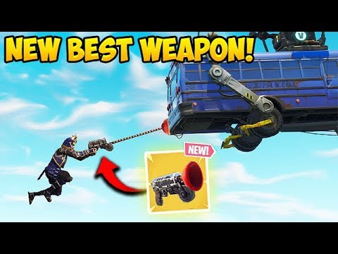 View *NEW* GRAPPLER GUN BEST PLAYS! – Fortnite Funny Fails and WTF Moments! #313
