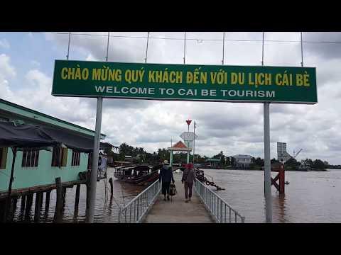 Du lịch Cái Bè Tiền Giang cùng Sài Gòn ngày nay | Cai Be Floating Maket