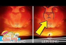 Xem 10 Chi Tiết Thú Vị Ẩn Giấu Trong Các Bộ Phim Hoạt Hình DISNEY