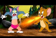Xem Tom and Jerry Ranger | Love Story with Duck + Little Mouse + Dragon Plame | توم و جيري حلقات جديده
