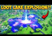 View *EXPLOSION* SPOTTED AT LOOT LAKE! – Fortnite Funny Fails and WTF Moments! #316