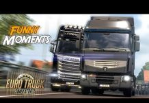 View Euro Truck Simulator 2 Multiplayer Funny Moments & Crash Compilation #91