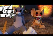 Xem GTA 5 Mods – EVIL TOM AND JERRY MOD (GTA 5 Mods Gameplay)