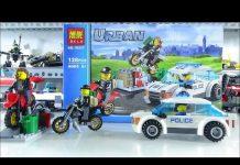 Xem Lắp ghép đồ chơi lego: Xe ô tô cảnh sát săn bắt cướp BELA10417 – Dũng Đồ Chơi