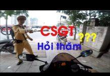 Xem Xử lý như nào khi bị CSGT hỏi thăm? – Motovlog Cbr600