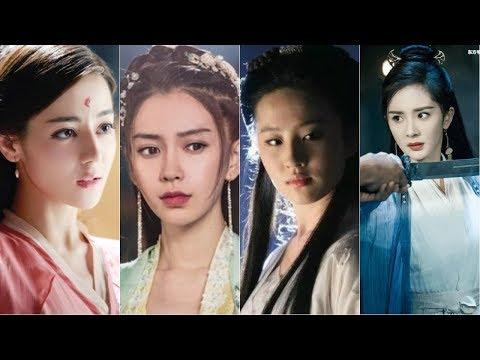 Xem Những mỹ nhân Hoa ngữ hóa thành tuyệt sắc giai nhân cổ đại