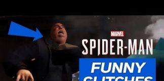 View Marvel's Spider-Man PS4 – Funny Glitches Compilation