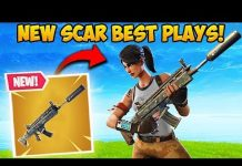 View *NEW* SILENCED SCAR IS BROKEN! – Fortnite Funny Fails and WTF Moments! #318