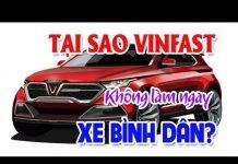 Xem Tại sao VINFAST không sản xuất ngay xe bình dân | Lộ diện hai mẫu xe máy điện của Vinfast