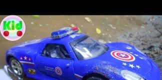 Xem Xe ô tô cảnh sát biến hình – đồ chơi trẻ em A351V Mr Dung