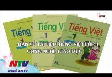 Bàn về tài liệu Tiếng Việt lớp 1 – Công nghệ giáo dục