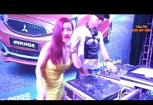 Xem Nữ DJ Quảng Cáo Xe Hơi Mitsubishi  Này Lốp Căng Quá