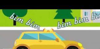 Xem Nhạc thiếu nhi: Còi Xe Bim Bim |  Em tập lái ô tô | Old MacDonald Had A Farm | de men