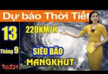 Xem Dự Báo Thời Tiết Hôm Nay 13/9 : Siêu Bão MangKhut Di Chuyển Cực Nhanh