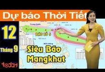 Xem Dự Báo Thời Tiết  Hôm Nay 12/9 : Siêu Bão Mangkhut Đang Đuổi Theo Bão Số 5