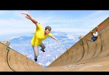 View GTA 5 Crazy Jumper/Falls compilation #5 (GTA 5 Fails Funny Moments/Ragdolls)