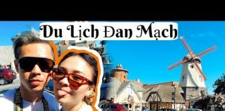 Du Lịch ở Đan Mạch 24 tiếng | Travel To Solvang  ♡ BeeSweetiee