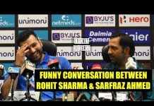 View Asia Cup 2018 : Funny Conversation between Rohit Sharma and Sarfraz Ahmed during Press Conference