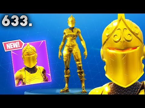 View *GOLDEN KNIGHT* NEVER SEEN SKIN..!!! Fortnite Funny WTF Fails and Daily Best Moments Ep.633