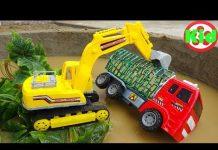 Xem 🚛 Vô tình tìm được nhiều xe ô tô thú vị 🚛 đồ chơi trẻ em A890T Kid Studio 🚛