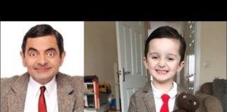 Xem Cậu bé giống Mr Bean như hai giọt nước từ vẻ ngoài đến thần thái
