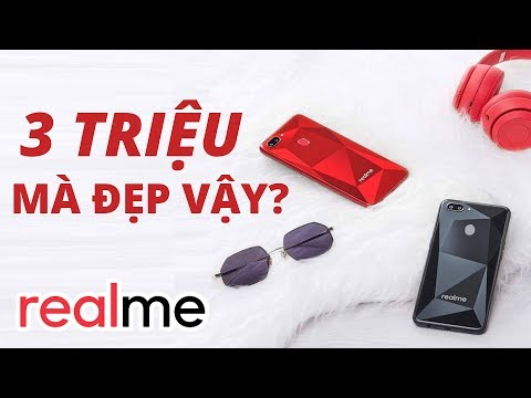 Xem Trên tay Realme 2 : Smartphone thời trang giá rẻ này sắp bán ở Việt Nam đó !