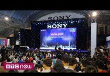 Sôi động bữa tiệc công nghệ Sony Show 2018