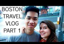 Boston Travel Vlog Part 1 Day 1 & 2   Đi du lịch ở TP Boston   Audrey Nguyen