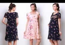 Xem Top 100 Mẫu đầm bầu đẹp nhất – Thời trang váy đầm bầu hot  2016