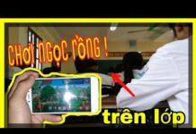 Xem (ngọc rồng online) mang điện thoại đến lớp troll săn bư – jenki TV !
