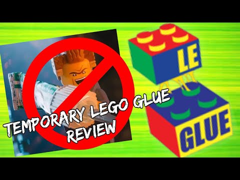 Xem Le Glue Review Temporary LEGO Adhesive As Seen On Shark Tank
