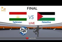 Video Tajikistan vs Palestine Live | FINAL | Bangabandhu Gold Cup 2018 Football | Nagorik TV