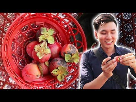 ĂN TRÁI CÂY VƯỜN LẠ CẠNH HANG RỒNG QUẢN BẠ |Du Lịch Hà Giang #3