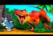 Xem Tom And Jerry English Episodes – Dinosaurs Tyrants – Cartoons For Kids