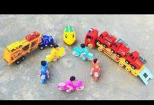 Xem Xe Tải, Xe Ô Tô, Xe Container, Xe Hơi Cho Bé | Truck Container for children