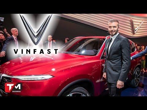 Xem David Beckham xuất hiện hoành tráng cùng xe hơi Vinfast Việt Nam