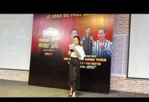 Xem Hot girl Sam làm MC họp báo Thách thức danh hài mùa 5