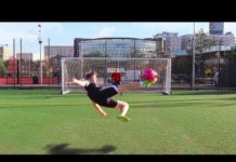 Video SCISSOR KICK FOOTBALL CHALLENGE