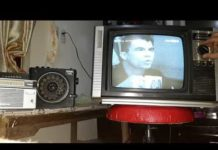 Xem xem tivi đen trắng bằng đầu thu KTS, How to watch vintage black and withe television