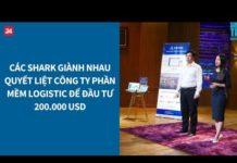 """Xem Shark Tank VN tập 8: Các Shark """"tranh giành"""" nhau thương vụ 200.000 USD"""