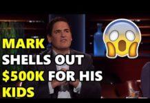 Xem Shark Tank Mark Gives Away $500k For His Kids!