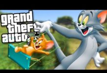 Xem TOM AND JERRY BECOME FRIENDS MOD (GTA 5 Mods Gameplay)