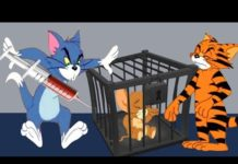 Xem Tom and Jerry 2018 | Tiger Cat   +  That's My Mommy   | Cartoon For Kids