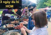 3 ngày du lịch HCM của Mẹ Mật – đi biển ăn hải sản nhớ đời luôn ^^