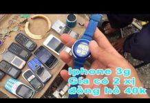 Xem Ghé chợ ve chai Q8, đồng hồ điện thoại zippo