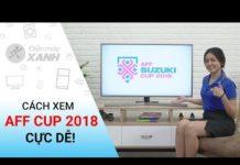 Xem Các ứng dụng xem Giải bóng đá AFF Suzuki Cup 2018 trên Smart Tivi | Điện máy XANH