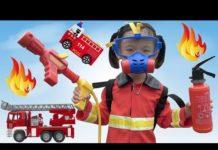 Xem Trò Chơi Bé Tập Làm Lính Cứu Hỏa ❤ AnAn ToysReview TV ❤